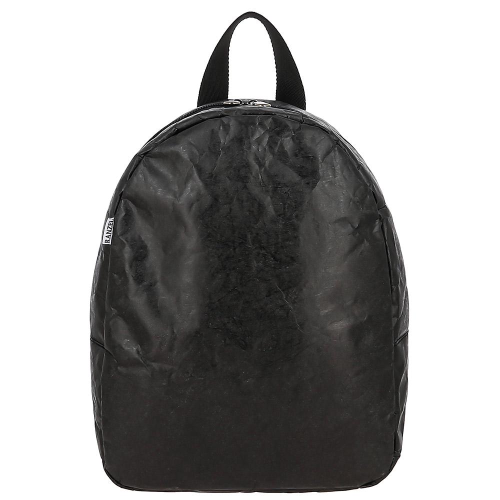Купить рюкзак Minimal ultra Kraft Black из крафт-материала Tyvek (Тайвек) в официальном интернет-магазине RANZEL BAGS