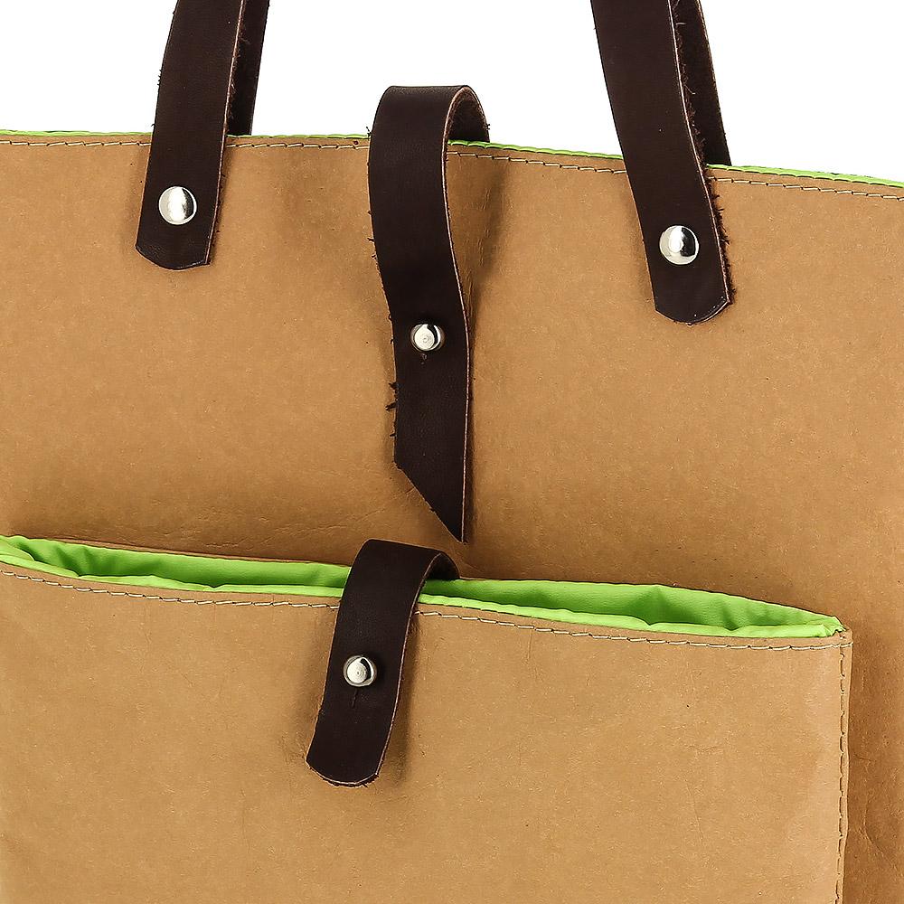 86b3571b76b3 Купить конференц-сумку Ending Kraft из крафт-материала Tyvek (Тайвек ...