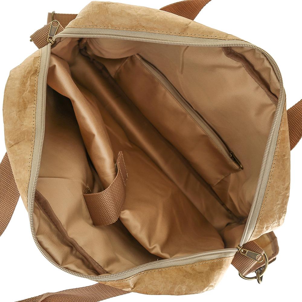 8dddc466e835 Купить Конференц-сумка Tatum Kraft из крафт-материала Tyvek (Тайвек ...