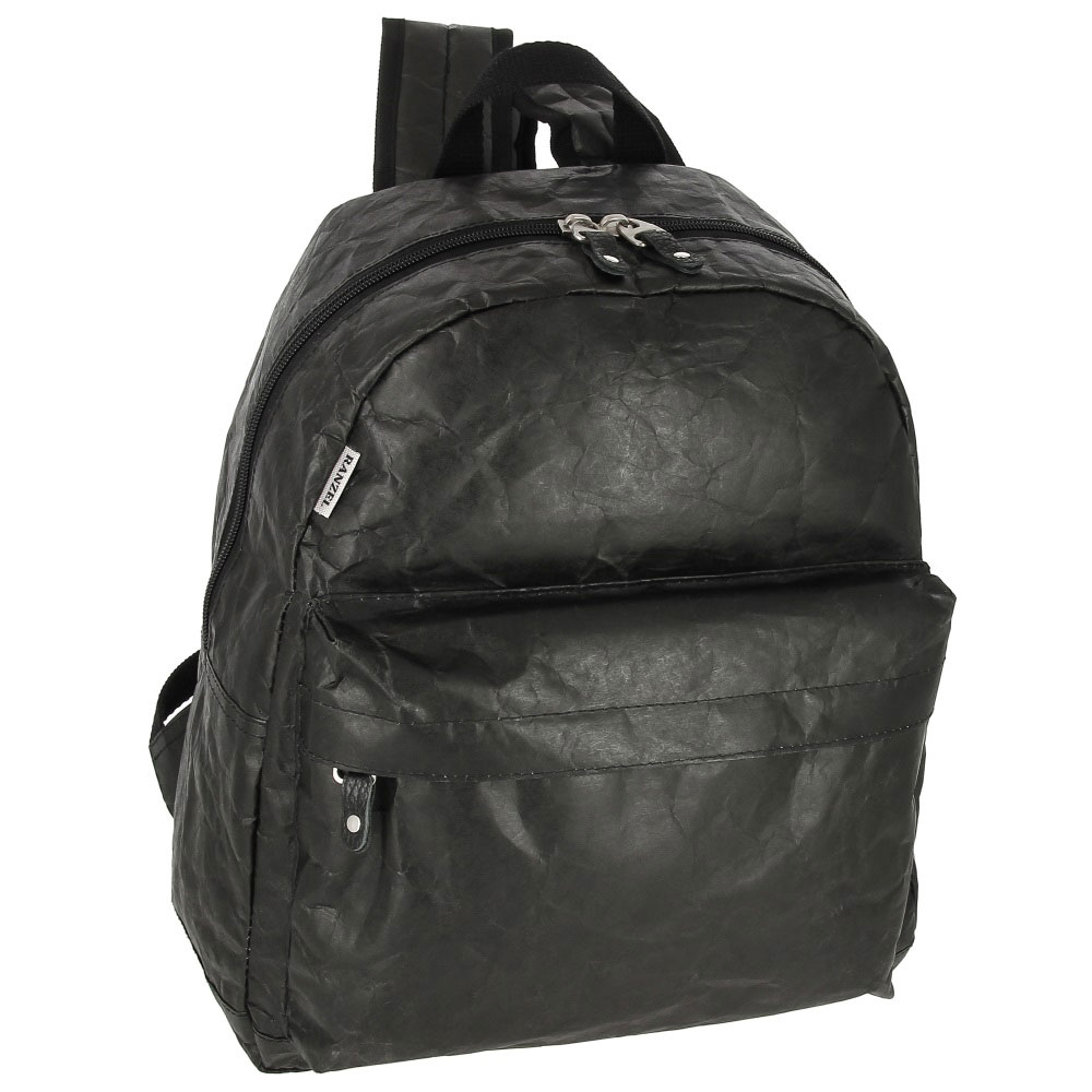 Купить рюкзак Torvi Kraft Black из крафт-материала Tyvek (Тайвек) в официальном интернет-магазине RANZEL BAGS